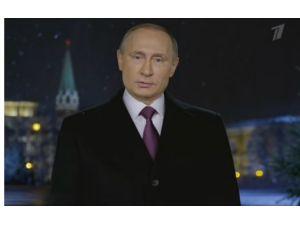 Putin'den yeni yıl mesajı