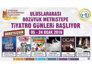 Uluslararası Bozüyük Metristepe Tiyatro Günleri Başlıyor
