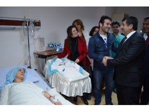 Trabzon Valisi Abdil Celil Öz, Yeni Yılın İlk Bebeklerini Ziyaret Etti.