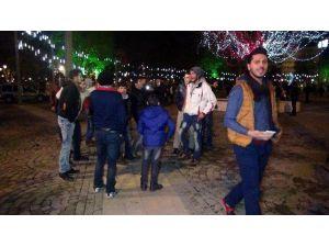 Gaziantep'te Türk Ve Suriyeliler Yeni Yılı Birlikte Kutladı