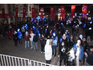 Edirne'de '-7 Derecede' Yeni Yıl Coşkusu