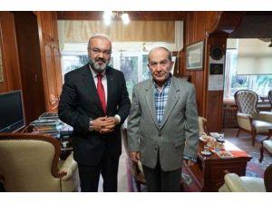 Hilmi Özkök, Bursa Müftüsü Mehmet Emin Ay'ı Ziyaret Etti