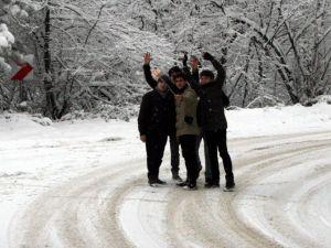 Kar Yağışı En Çok Onlara Yaradı