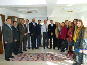 Soma CHP'nin Yeni Yönetiminden Kaymakam Altıntaş'a Ziyaret