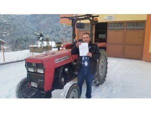 Kastamonu'daki Traktöre, İstanbul'dan Ceza Geldi
