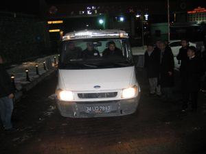 Karayolları işçilerinin cenazeleri Adli Tıp Kurumu'ndan alındı