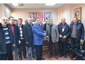 CHP Yeni İl Başkanı Yalçın Taştan Görevi Devraldı