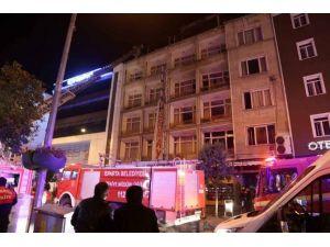 Isparta'da Otel Yangını