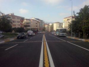Kocaeli'de 150 Kilometre Yol Çizgisi Yenilendi