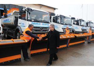 Pursaklar Belediyesi Kış Tedbirini Arttırdı