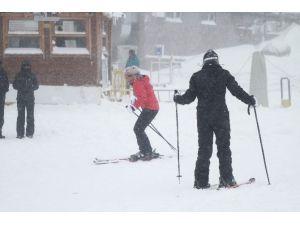 Uludağ'da Kar Kalınlığı 60 Santimetre