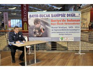 Mamak'ta Bayır-bucak Türkmenleri İçin Yardım Standı
