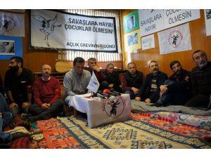 Alevi STK'lar, protesto için açlık grevine devam karar aldı