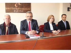 MHP İl Başkan Ve Aydın Milletvekilinden Bahçeli'ye Sadakat Açıklaması