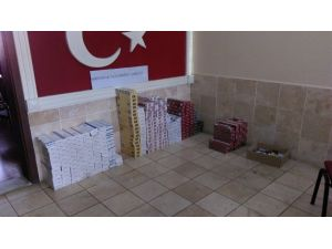 Serinhisar'da kaçak sigara operasyonu
