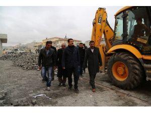 Eyyübiye Belediyesi Üst Yapı Çalışmalarına Hız Verdi