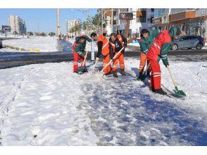 Eş Başkanlar Karla Mücadele Çalışmalarını Denetledi