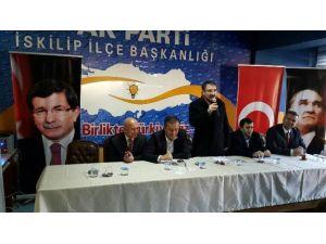 AK Parti İskilip İlçe Danışma Meclisi Yapıldı