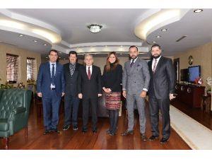 Adana Byz Algomed Spor'dan Vali Büyük'e Ziyaret