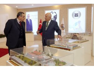 Azerbaycan Büyükelçisi'nden Yenimahalle'ye ziyaret