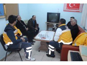 Başkan Özaltun'dan 112 Çalışanlarına Ziyaret