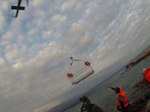 Sahil Güvenlik ekipleri Ege'de 57 kişiyi kurtardı
