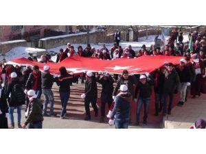 Aksaray'da Sarıkamış Şehitleri İçin Yürüdüler