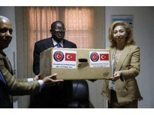 TİKA'dan Gine Bissau Cumhuriyet Başsavcılığına Yardım