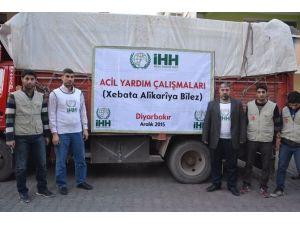 İHH'dan Göç Eden Bölge Halkı İçin Göç Yardım Kampanyası