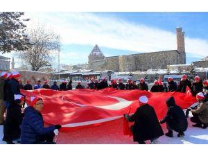 Erzurum'da Sarıkamış Şehitleri Anıldı