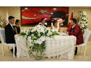 365'nci nikahı Başkan Turgay Genç kıydı