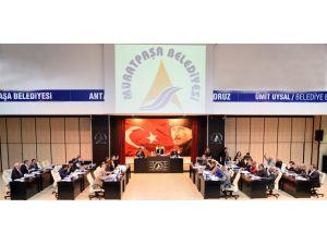 Muratpaşa Belediye Meclisi yeni yılın ilk mesai günü toplanacak