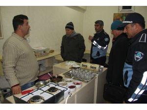 Eyyübiye Belediyesi Zabıta Ekiplerinden Gıda Denetimi