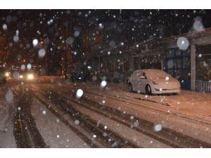 Çorlu'da Okullara Kar Tatili