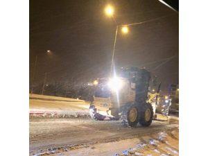 Kırklareli'nde Kar Yağışı Ulaşımı Olumsuz Etkiledi
