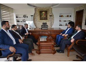 SP Gençlik Kolları Genel Başkanı Aydın'dan ASKON'a Ziyaret