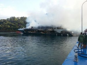 Marinada Yangın Dehşeti