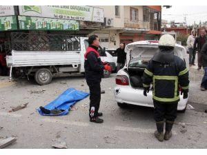 Önce Yayaya Sonra Kamyonete Çarpan Sürücü Öldü