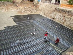 Hisarcık'ta Yeni PTT Binasının Yapımına Başladı
