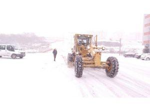 Edirne'de 12 Köy Yolu Ulaşıma Kapandı