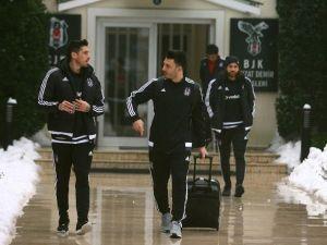 Beşiktaş, Devre Arası Hazırlıkları İçin Antalya'ya Gitti