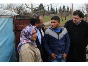 CHP Milletvekili Purçu: Romanlar çadırlarda soğukta ölmeye devam ediyor