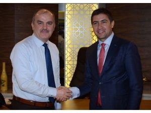 AK Partili Vekil Özkan'dan Başkan Gürlesin'e Ziyaret