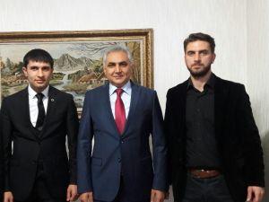 Gençlik Konseyi, Malatya Emniyet Müdürü Urhal'ı Ziyaret Etti