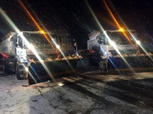 Pursaklar'da 24 Saat Kar Mesaisi