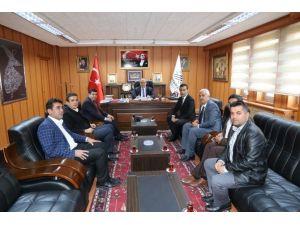 Adeks'ten, Başkan Kutlu'ya Ziyaret