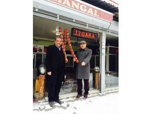 Başkan Çay, 'kar altında sucuk keyfi'ne çağırdı