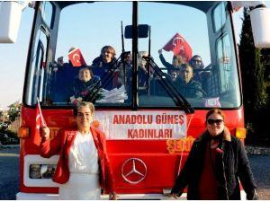 Anadolu Güneş Kadınları Biraraya Geldi
