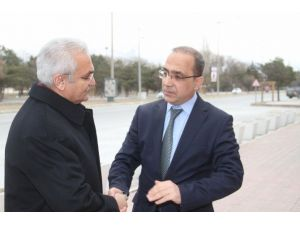 Başkan Başsoy'dan İl Emniyet Müdürlüğüne Taziye Ziyareti