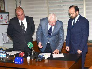 Bursapor'da başkan adayları resmi müracaatlarını yaptı